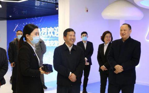 福建省委统战部黄水木副部长一行莅临安发生物调研