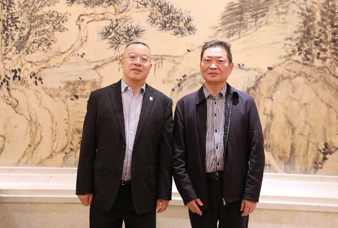 绿之韵胡国安参加深圳市益阳商会、安化商会益阳行活动