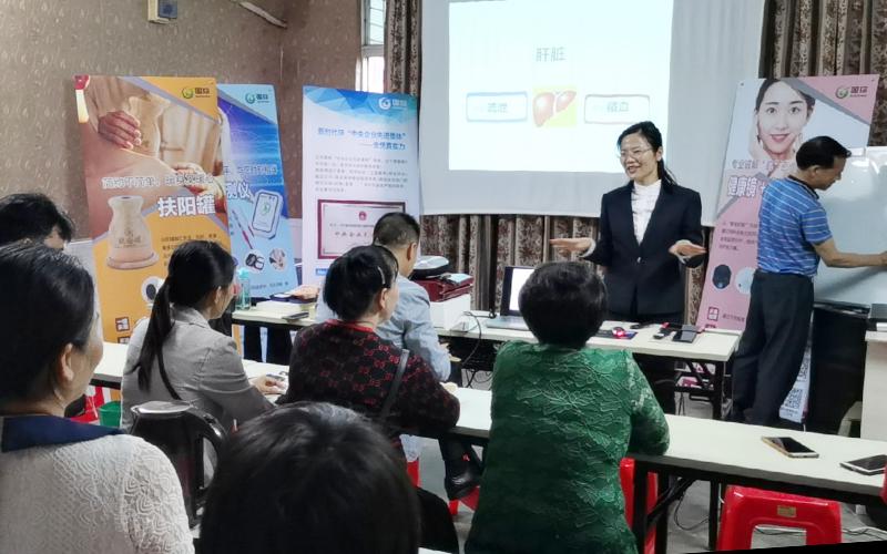 """新时代广西分公司积极开展""""文化科技卫生进社区""""活动"""