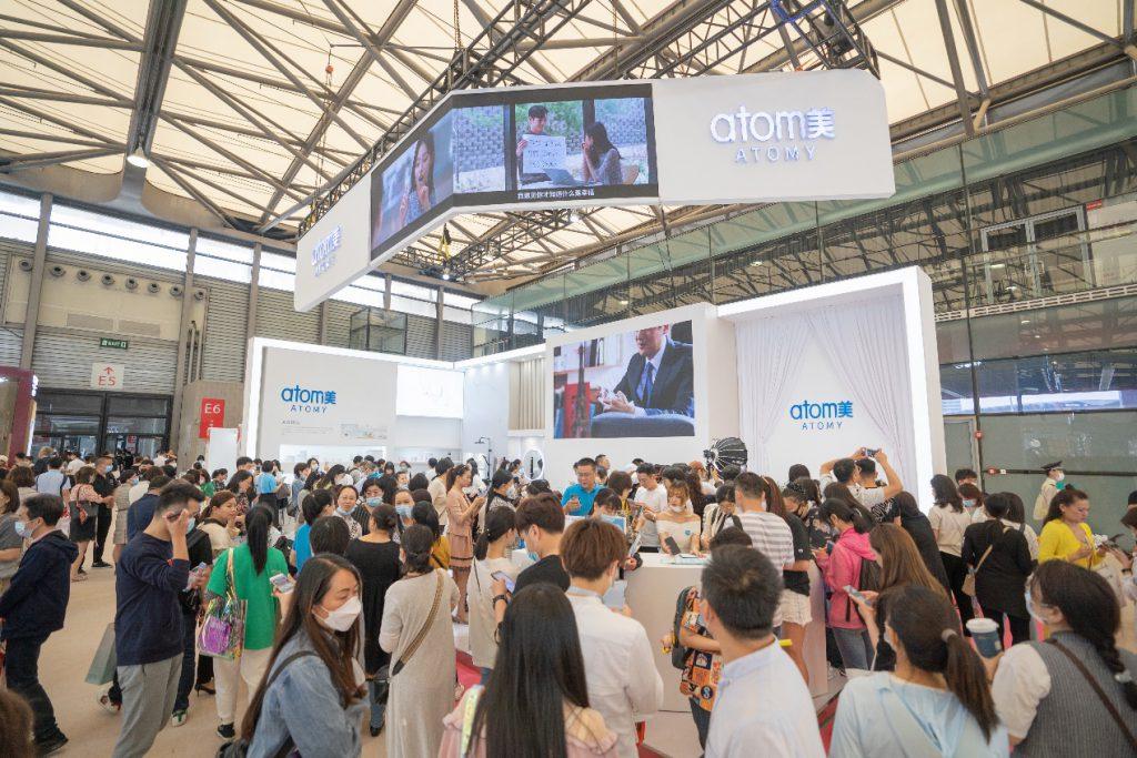 艾多美亮相上海美博会,获奖产品燃爆全场