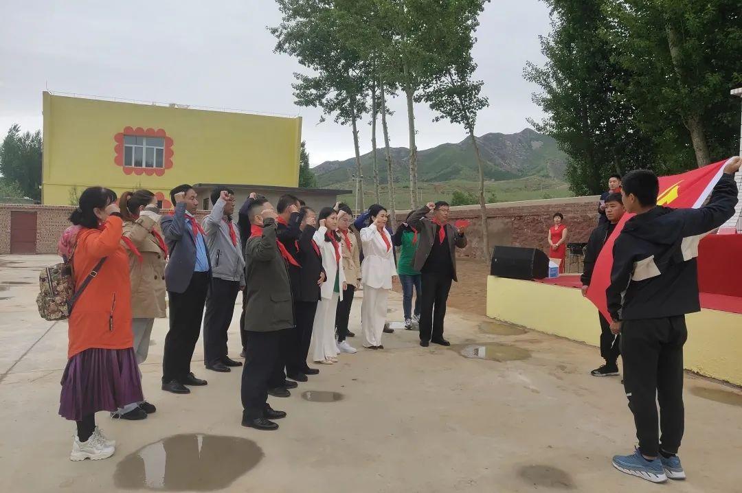 致敬建党100周年,尚赫党支部开展党建系列活动