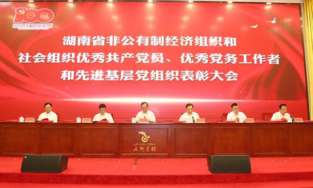 """绿之韵集团党委书记刘云荣获湖南省""""优秀党务工作者""""荣誉"""