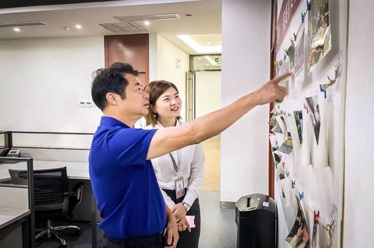 湖南省市监局领导到完美湖南分公司开展调研工作