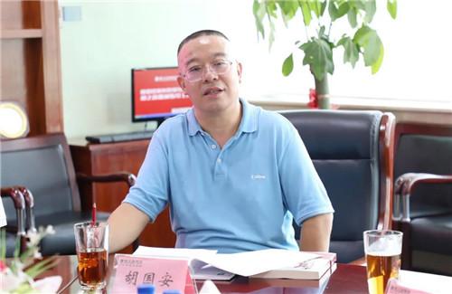 湖南市场监督管理局副局长丁珍良调研绿之韵