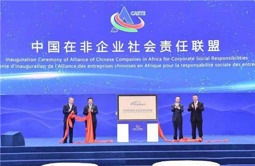 绿之韵胡国安受邀出席第二届中非经贸博览会